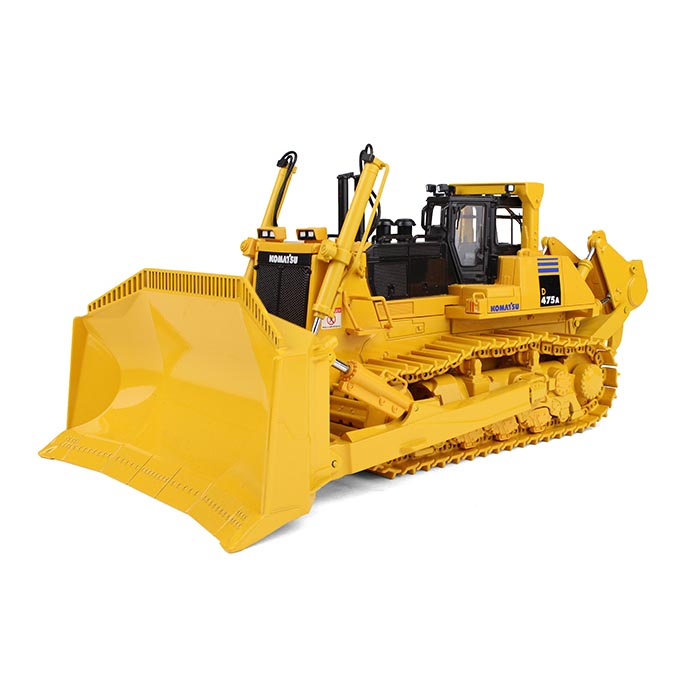 Komatsu D475A-5EO Dozer with Ripper 1 50 Diecast Model by First Gear by First Gear