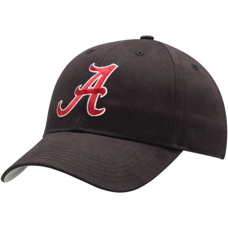 Men's Black Alabama Crimson Tide Basic Adjustable Hat -
