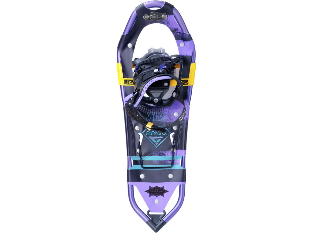 Atlas Snowshoes Elektra Treeline 27 Snowshoe Color Black Purple by Atlas Snowshoes