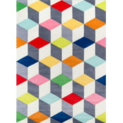 Momeni Lil Mo Hipster Cubes Area Rug