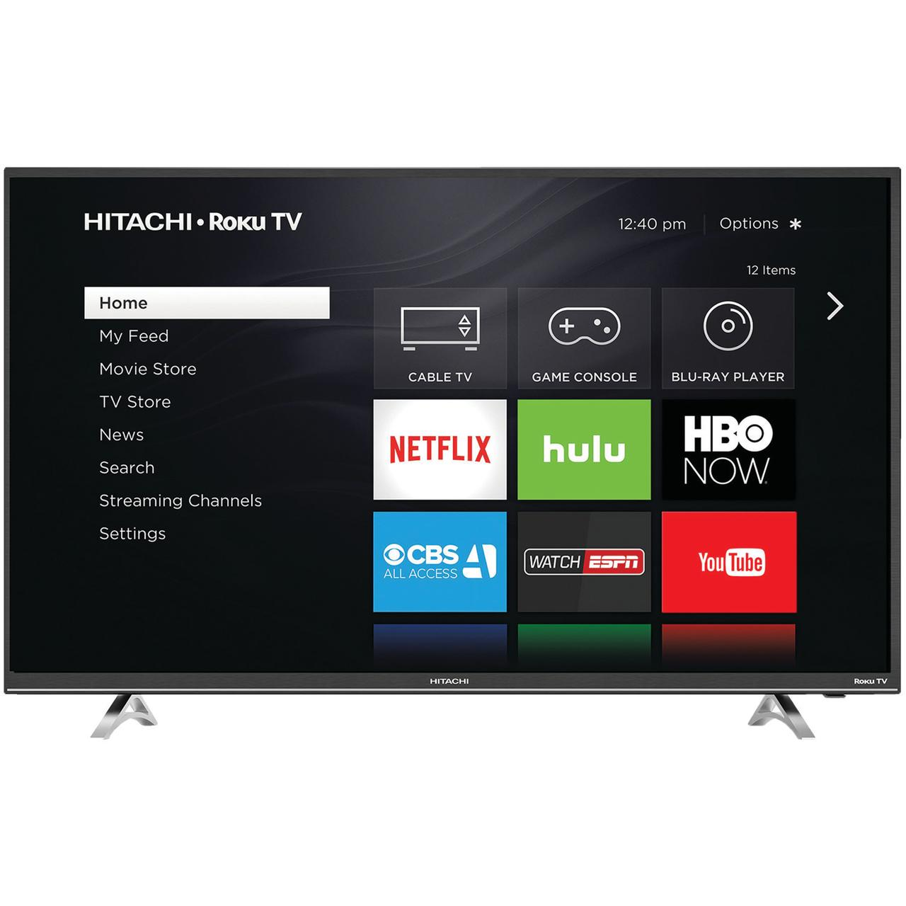 "Hitachi 49R50 49"" 1080p LED HDTV with Roku"