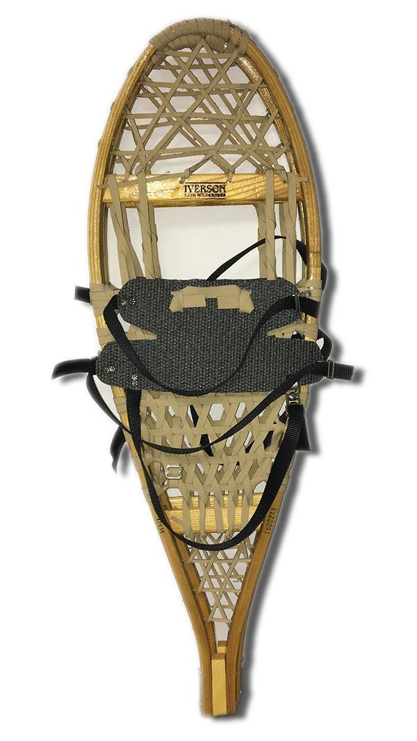 Iverson Bear Paw 13 X 35 Neoprene Snowshoes W  AA Neoprene Harness Package 220lb Capacity by