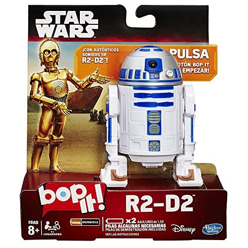 Star Wars Bop It R2-D2 Game by , Chess Import Black Hasbro Training Simon Ninja Actor Special Pack 10 12 Connect Anniversary Hot Edition Card Game Colors AU.., By Hasbro