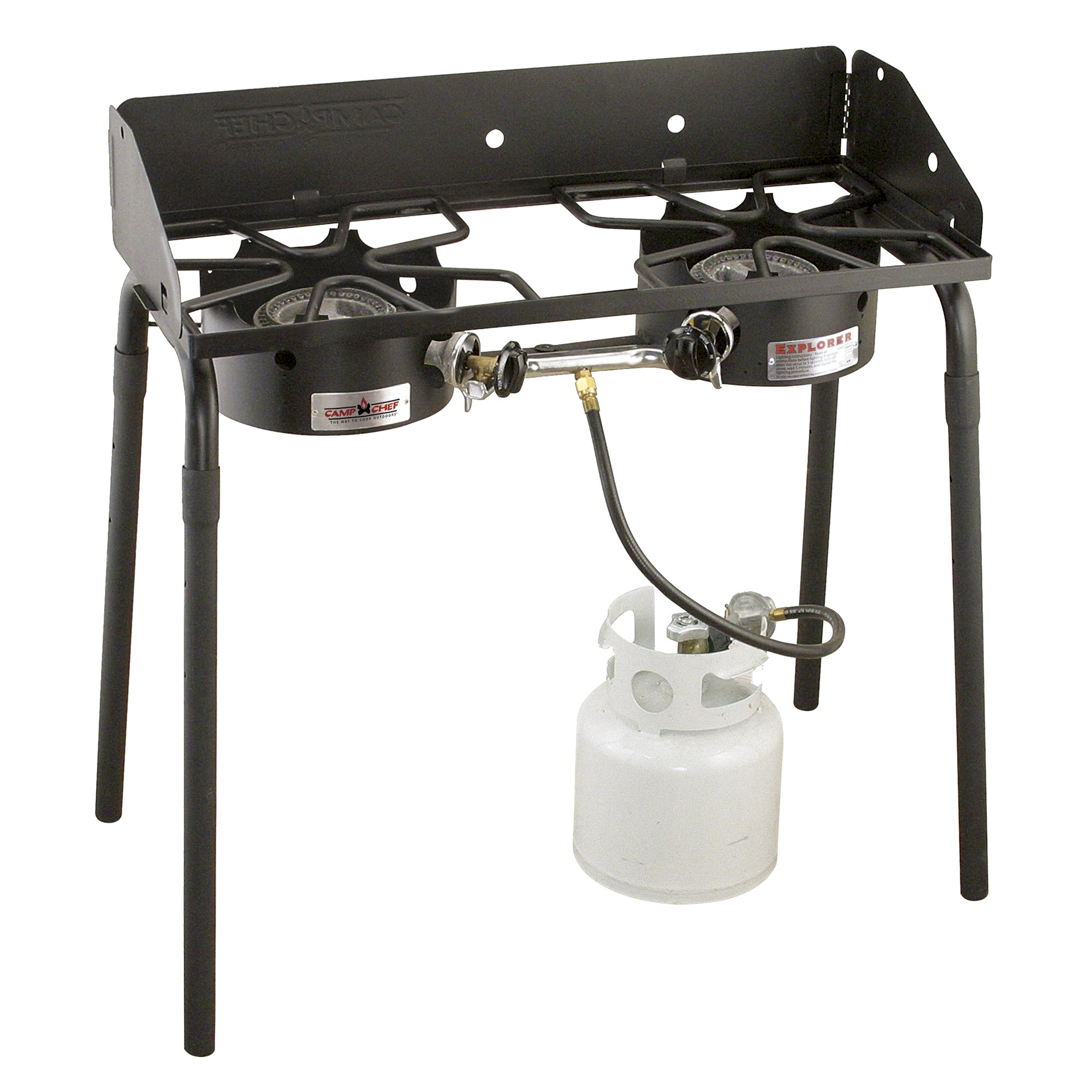 Camp Chef Explorer 30,000 BTU 2-Burner Propane Stove