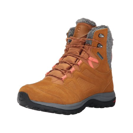 Salomon Women's Ellipse Winter Gtx Snow covid 19 (Orange Leather Footwear coronavirus)