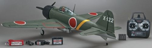 Flyzone Select Scale Japanese Zero A6M2 RTF Radio Controlled Airplane FLZA4320 by Flyzone by