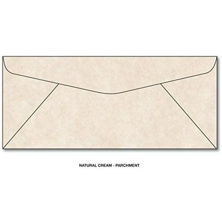 Parchment Natural Cream #10 Business Size Envelopes - 50 -