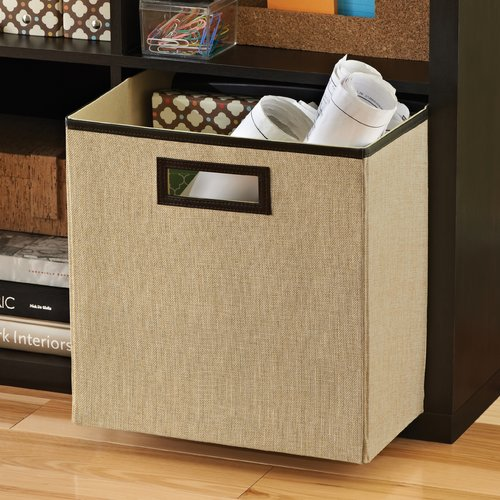 ClosetMaid Decorative Storage Fabric Storage Bin