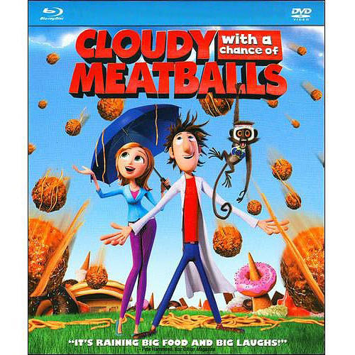 Cloudy With A Chance Of Meatballs (Blu-ray   DVD) (With INSTAWATCH) (Widescreen)
