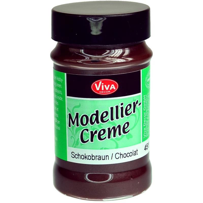 Viva Decor Modeling Creme 90g-Chocolate