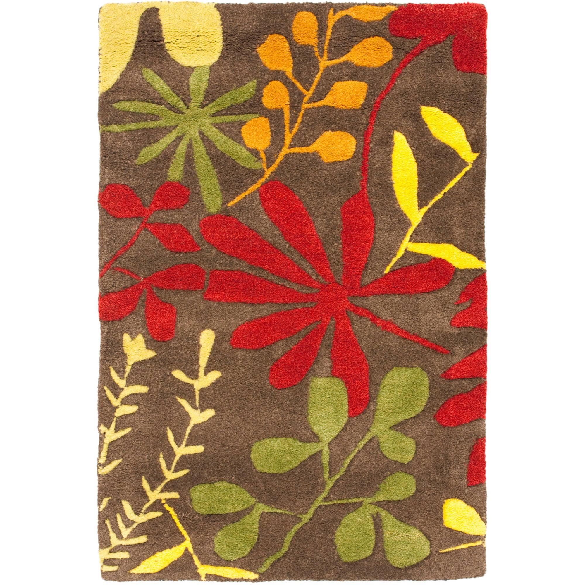 Safavieh Soho Olympia Wool Rug, Brown/Multi-Color
