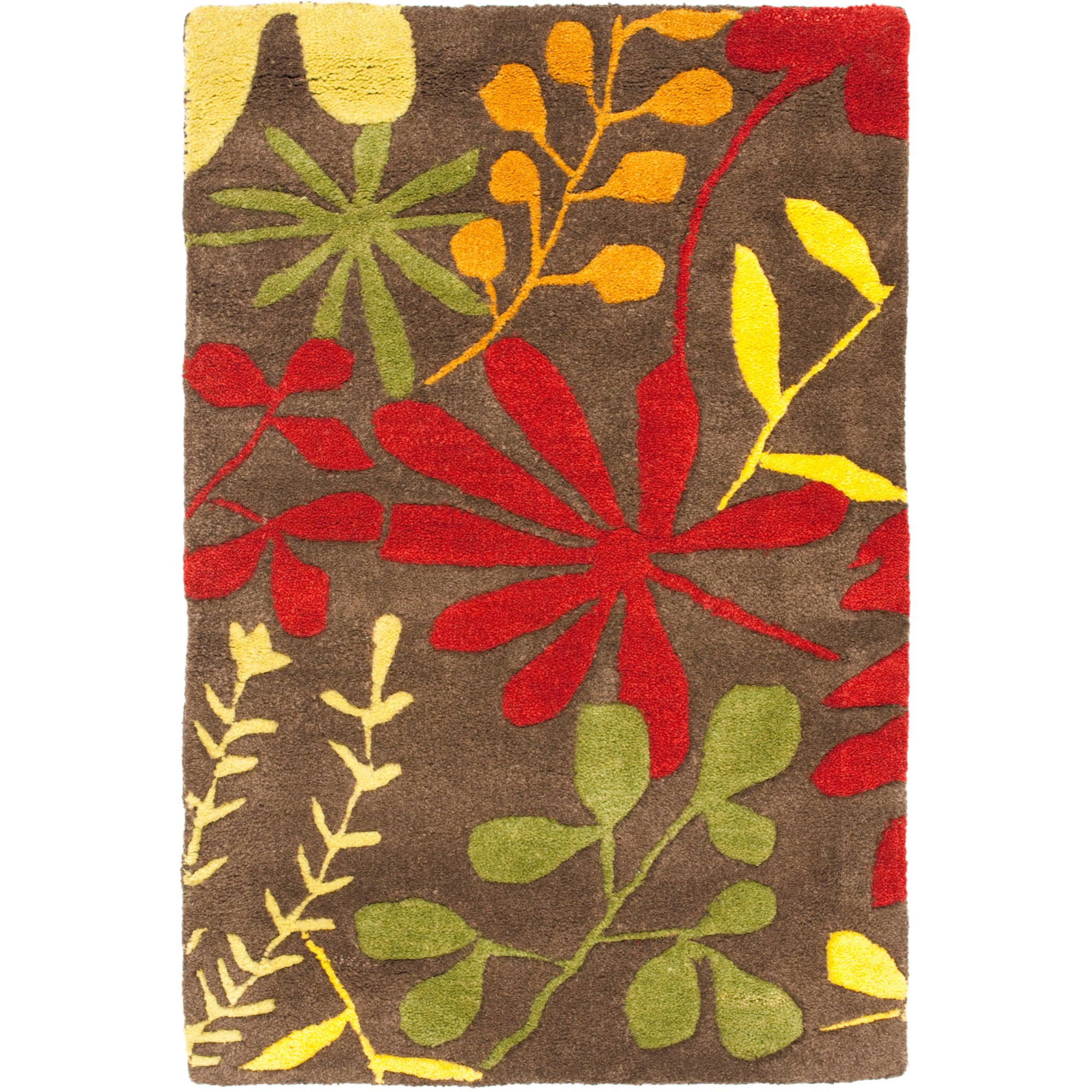 Safavieh Soho Olympia Wool Area Rug, Brown/Multi-Color