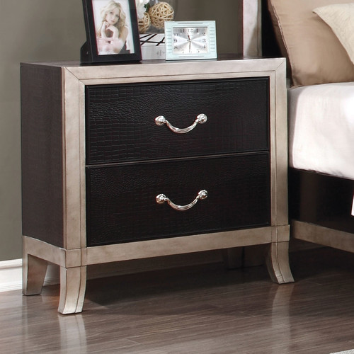 Hokku Designs Farrah 2 Drawer Nightstand