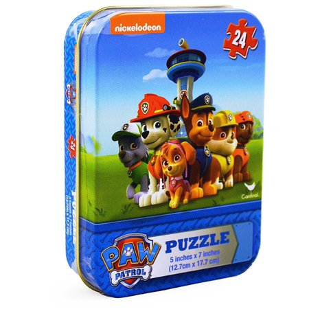 Paw Patrol Is on a Roll 24 Piece Jigsaw Puzzle in a - Paw Patrol Halloween Puzzle