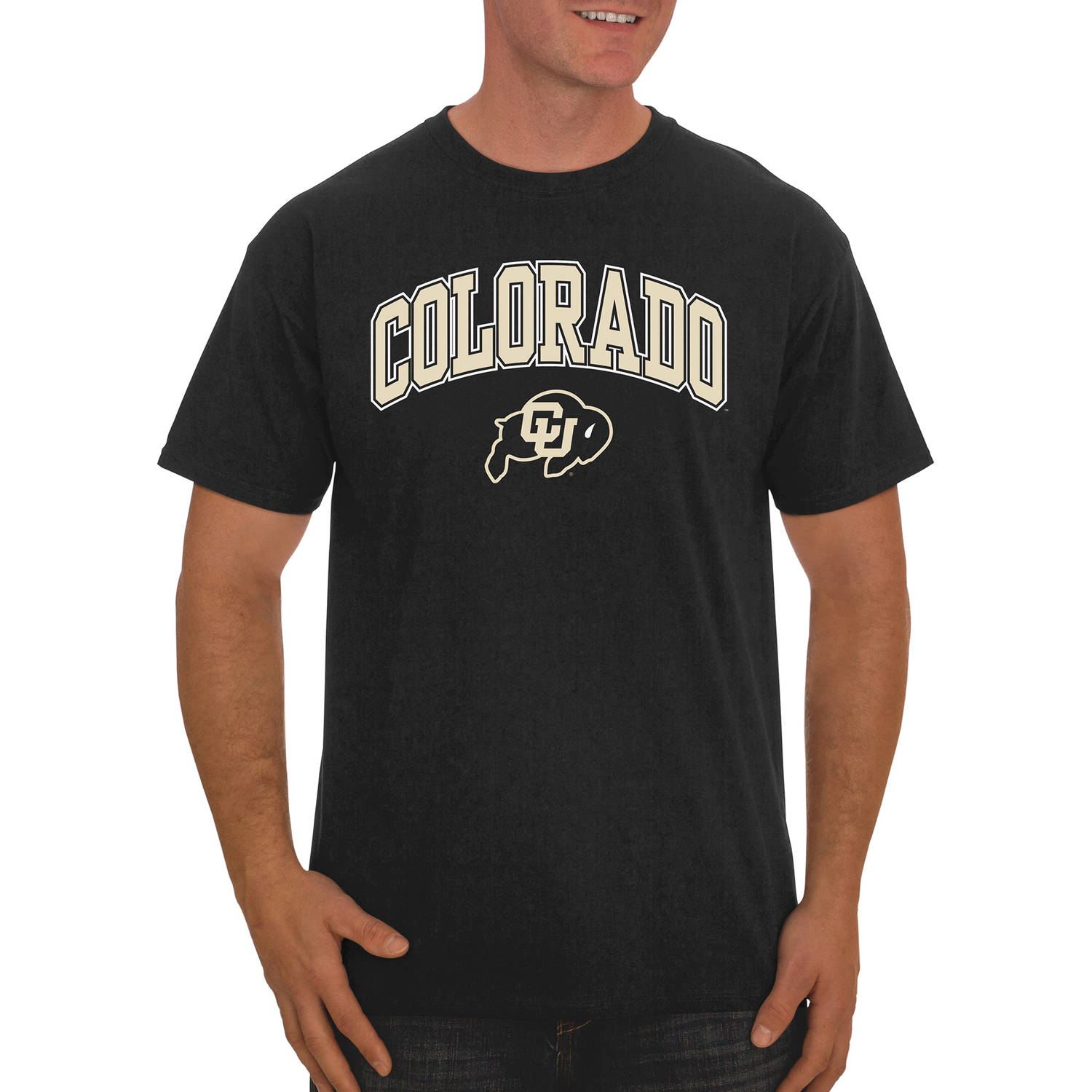 NCAA Colorado Buffaloes Big Men's Classic Cotton T-Shirt