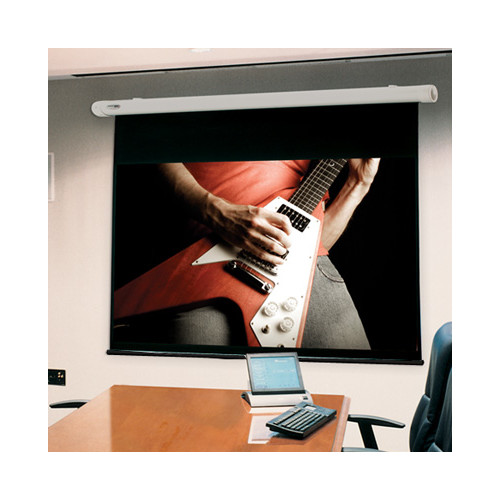 Draper Salara White Electric Projection Screen