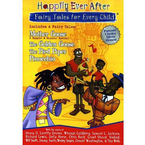 Happily Ever After: Fairy Tales For Every Child - Mother Goose / Pinocchio / The Pied Piper / The Golden (Full Frame)