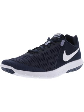 4de05e54fddd Product Image Nike Men s Flex Experience Rn 6 Obsidian   White Dark  Ankle-High Fabric Running Shoe