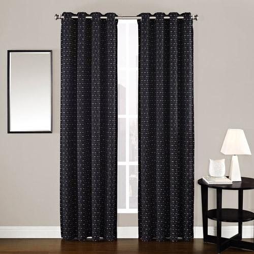 Contempo Chenille Textured Curtain Panel