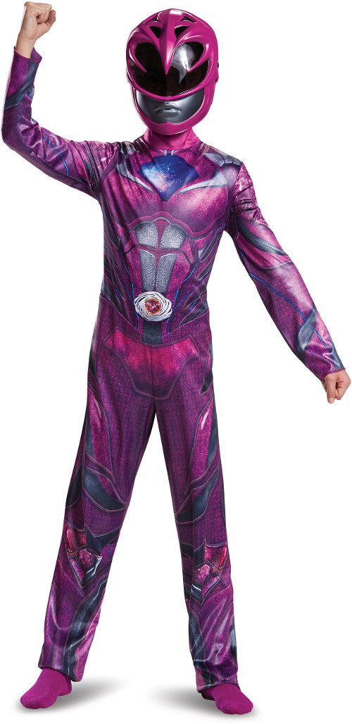 Child's Girls Classic Power Rangers Movie Pink Ranger Costume by Disguise