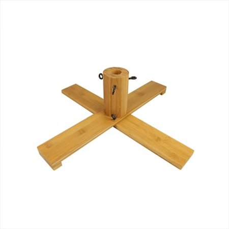 NorthLight Wooden Christmas Tree Stand For 6. 5 - 7 ft. Artificial Trees
