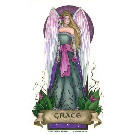 Angel Virtues Grace Fairy by Jessica Galbreth - Sticker / Decal