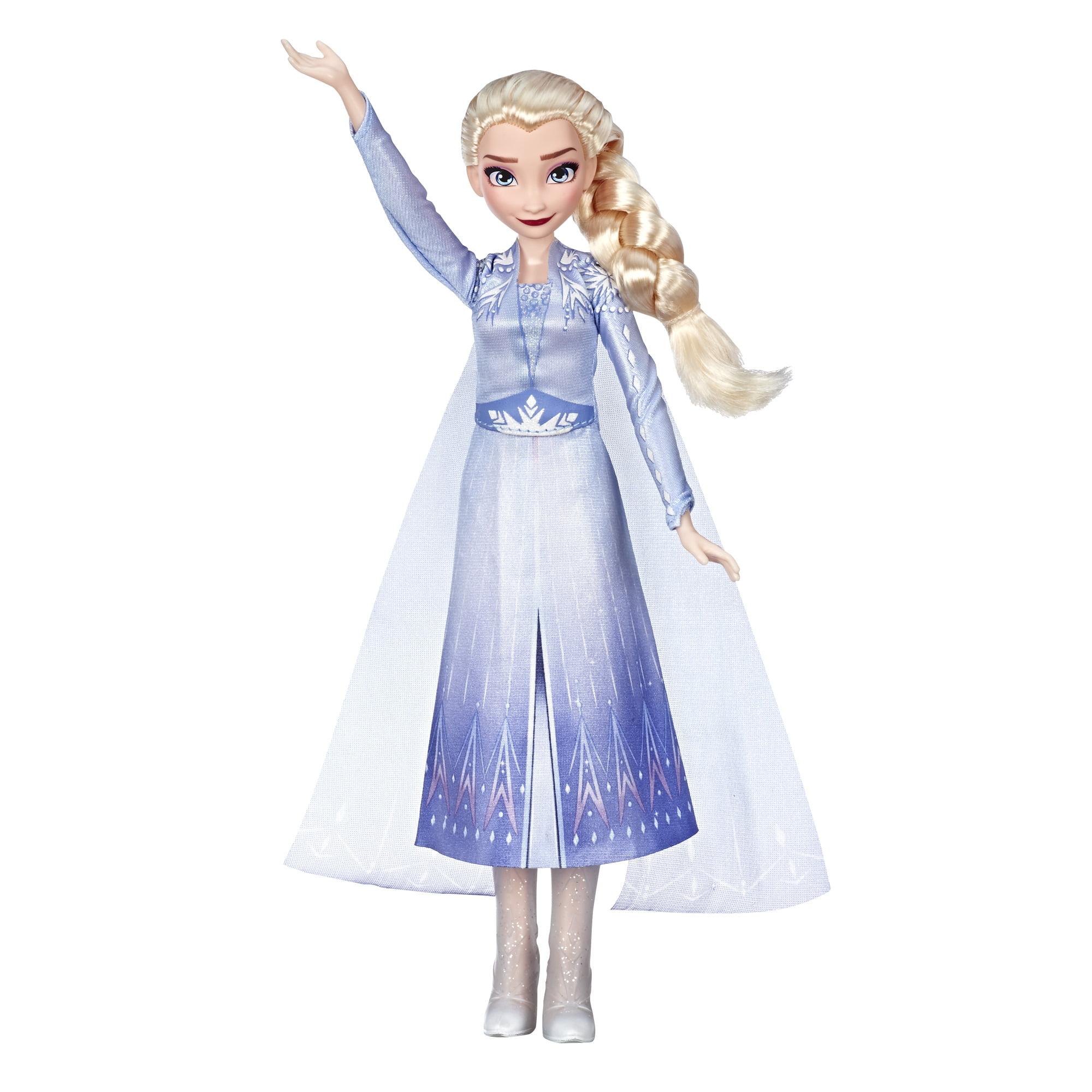 Disney Frozen 2 Singing Elsa Musical Fashion Doll with Blue Dress