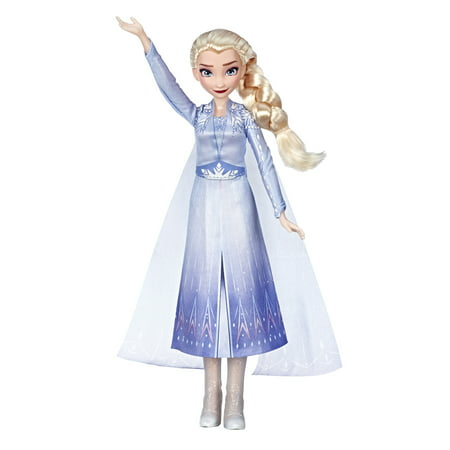 Disney Frozen 2 Singing Elsa Musical Fashion Doll with Blue Dress
