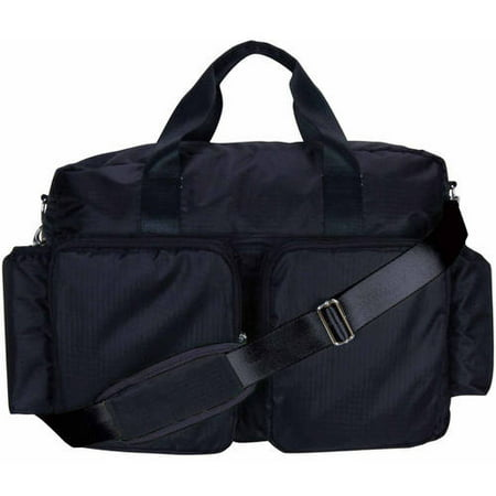 Trend Lab Deluxe Duffle Diaper Bag (Diaper Bag Pink And Brown)