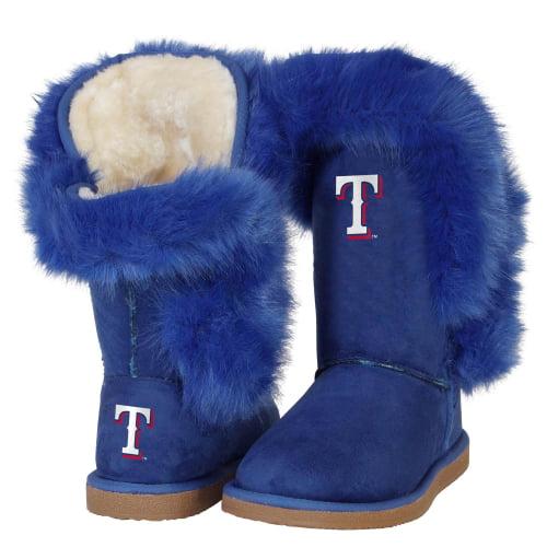 Texas Rangers Cuce Women's Champions Boots - Royal Blue