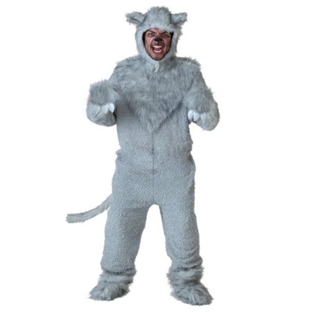 Adult Wolf Costume - Wolf Costums