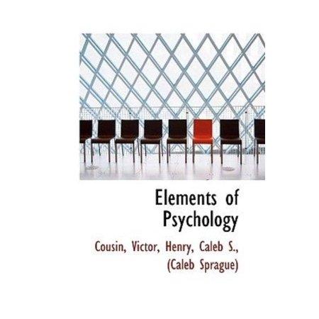Elements of Psychology - image 1 of 1