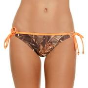 Juniors' Adjustable Side Tie Hipster Swimsuit Bottom