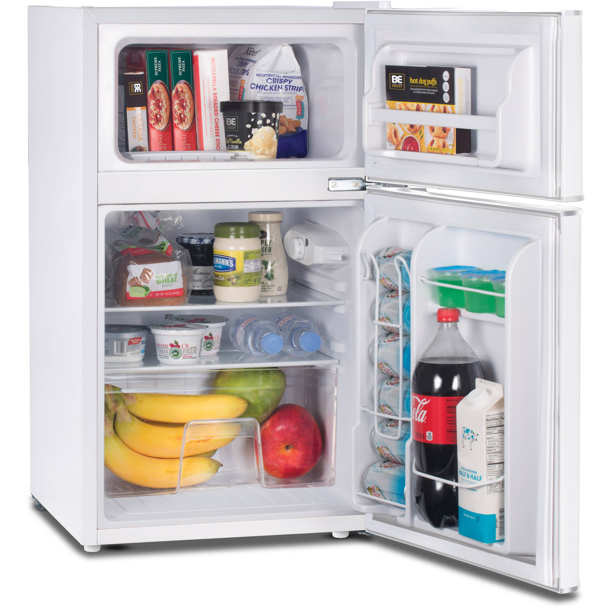 Westinghouse Commercial Cool 3.2 Cu Ft 2 Door Refrigerator With Freezer,  White   Walmart.com