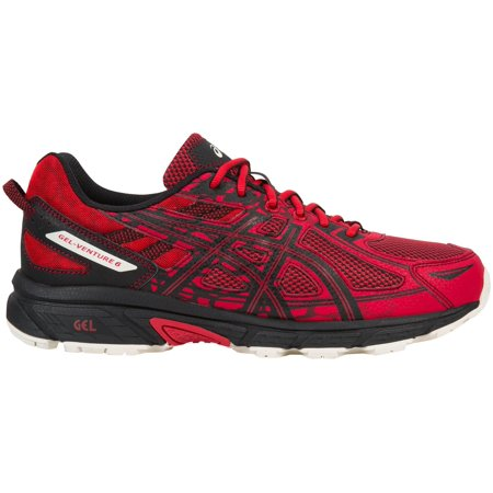 ASICS Men's GEL-Venture 6 Trail Running Shoes (Red/Black,