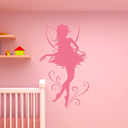 Fairy Dancer Wall Decal Wall Sticker Vinyl Wall Art Home Decor Wall Mu