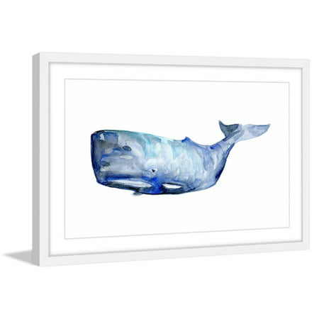 Whale Framed Tile - Marmont Hill