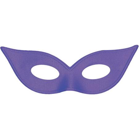 Satin Harlequin Mask Adult Halloween Accessory - Harlequin Halloween