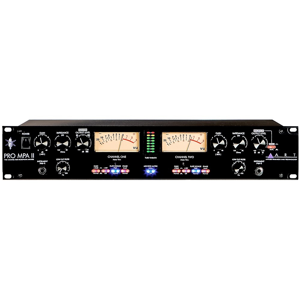 ART ProMPA II 2-Channel Tube Mic Preamp by ART Yorkville