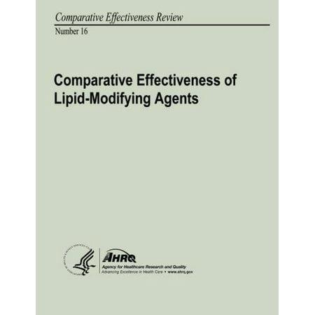 Comparative Effectiveness Of Lipid Modifying Agents  Comparative Effectiveness Review Number 16