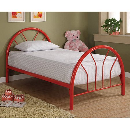 Coaster Twin Metal Bed Multiple Colors