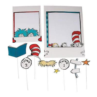 IN-13791768 Dr. Seuss School Photo Props 10 Piece(s)