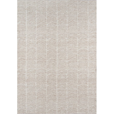 Erin Gates by Momeni Easton Congress Brown Indoor Outdoor Hand Woven Area Rug 2