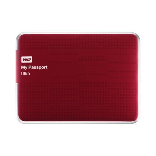 Wd WD My Passport Ultra WDBZFP0010BRD-NESN 1 TB External Hard Drive 2TA8364