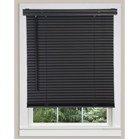 Black Mini Blinds Walmart.Cordless Window Blinds Mini Blinds 1 Black White Alabaster Wood Vinyl Blind