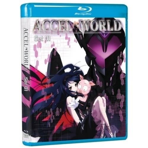 Accel World: Set 01 (Blu-ray) (Anamorphic Widescreen)