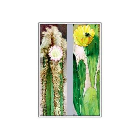 Cactus Flowers Print (Canvas Giclee 12x18)