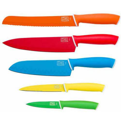 Chicago Cutlery Vivid 5-Piece Knife Set