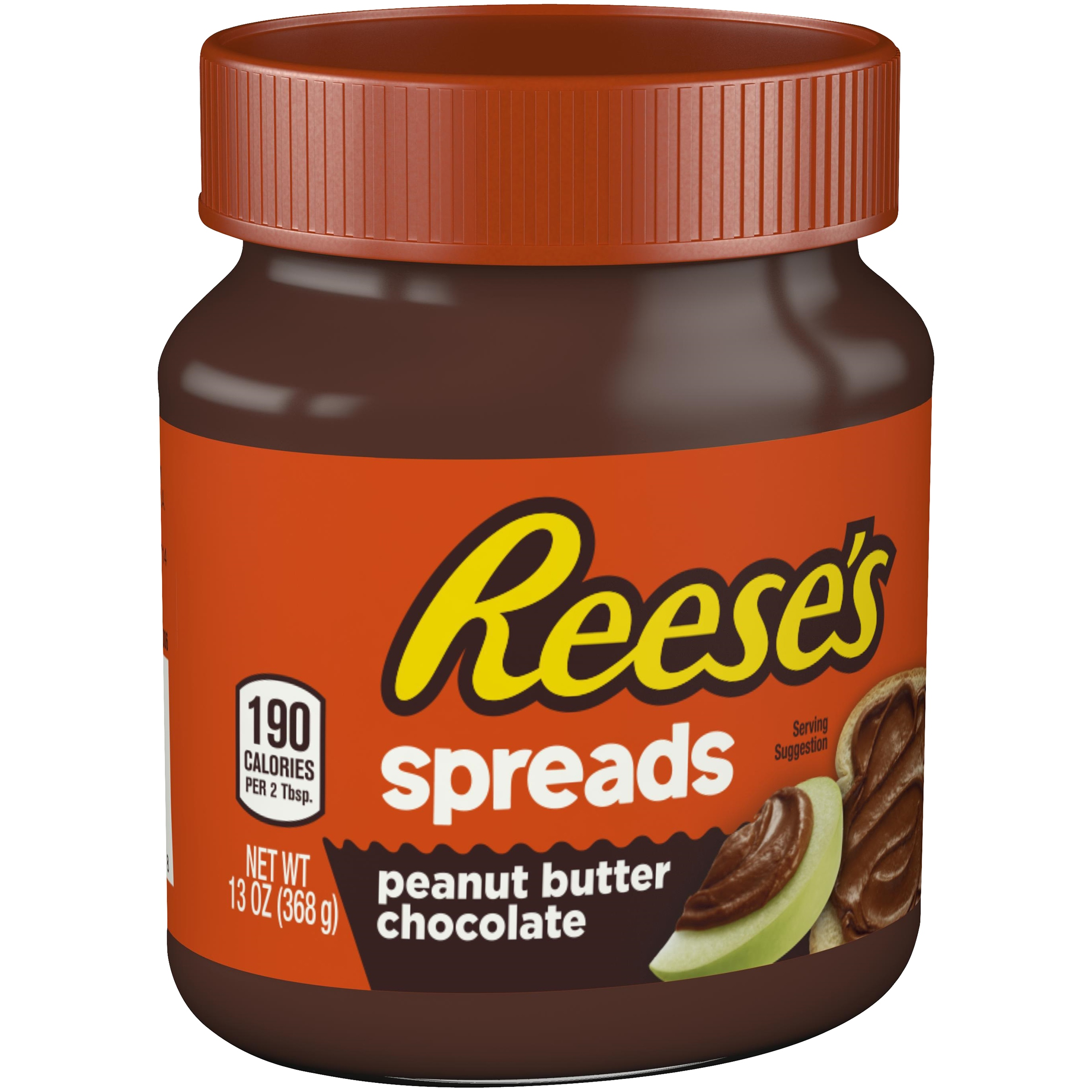 (2 Pack) Reese's Peanut Butter Chocolate Spread, 13 oz
