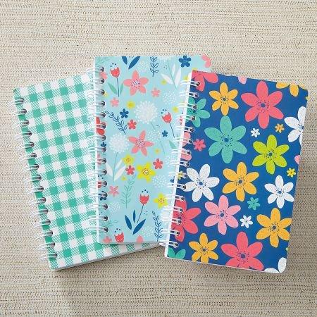 Spring Mini Notebooks - Set of 6 3-1/2